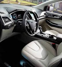 2017 Ford Edge Color Chart