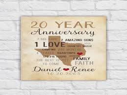 31 good 20th wedding anniversary gift ideas for him her 20th wedding anniversary gift ideas for husband