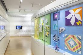 Museum Of Arts And Design Vera Paints A Scarf Bows At New Yorks Museum Of Arts And