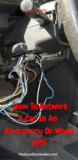 best 25 car survival kits ideas on pinterest emergency Emergency Ke Wiring how to hotwire a car in an emergency