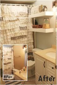 diy floating shelves bathroom storage
