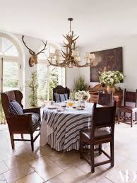 Ralph lauren home office Coastal The Breakfast Rooms Tableware Is By Ralph Lauren Home As Are The Fabrics Used For The Architectural Digest Ralph Laurens Refined Houses And Chic Madison Avenue Office