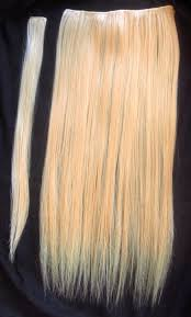 picture of diy clip in hair extensions
