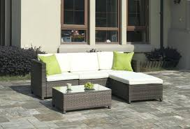 3 piece outdoor wicker patio set middletown motion high dining with chili cushions big lots furniture