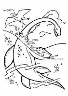 Dinosaurus Kleurplaten
