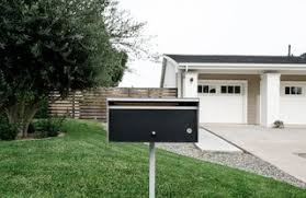 modern mailbox dwell.  Modern A Modern Mailbox In The Front Landscape Provides Character That Emphasizes  Overall Minimal Aesthetic For Modern Mailbox Dwell