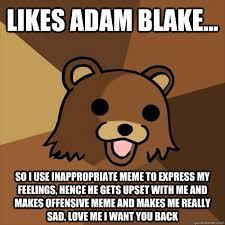 Pedobear memes   quickmeme via Relatably.com