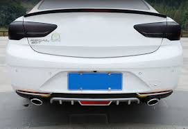 <b>Lsrtw2017 Abs Car</b> Rear Headlight Strip Trims for Buick Regal Opel ...