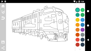 Free printable train coloring pages for kids. Trains Game Coloring Book For Android Apk Download
