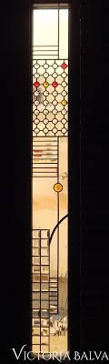 modern stained glass front door crystal