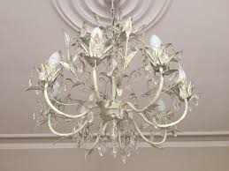 vintage 8 light chandelier 8 light chandelier laura ashley cream and gold finish cut glass