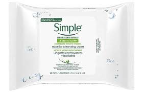 simple micellar makeup remover wipes best makeup remover wipes