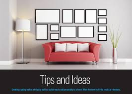 tips and ideas for hanging pictures and