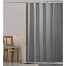 maytex norwich water repellant shower curtain or liner 70x72 grey