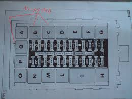 alfa romeo 146 fuse box wiring diagram description alfa romeo 146 fuse box