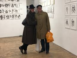 Mark Baldwin, the brilliant choreographer, depicts the human body as art~  his exhibition runs at the Bermondsey Gallery London | The Captured Thought