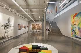 art gallery lighting tips. Stunning-interior-design-with-light-grey-wall-art- Art Gallery Lighting Tips
