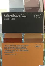 These Hilarious Fake Paint Names Make Home Decor Way More