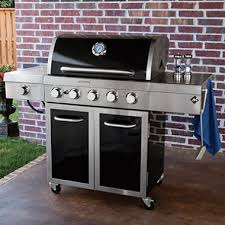 Kitchenaid 5 Burner Gas Grill Best Seller Mark Stainless Steel And Porcelain Throughout Decorating Ideas