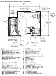 Ada Bathroom Diagram Ada Design Solutions For Bathrooms With Shower Compartments