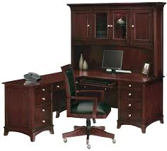 office desk armoire.  Desk White Office Desk With Hutch Corner L Shaped Black And Cherry Accent Color  Chairs Shape Table Intended Office Desk Armoire