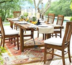 pottery barn outdoor furniture patio scroll to next item teak reviews