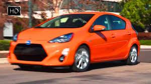 2015 Toyota Prius C Hatchback Hybrid Car Facelift Design HD - YouTube