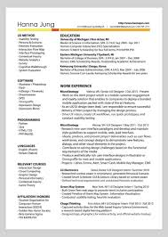 Technical Designer Resumes 10 Amazing Designer Resumes That Passed Googles Bar