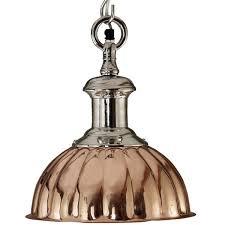 modulus chrome copper industrial pendant d epoca lighting davoluce lighting