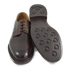 Walnut Shoes Size Chart Nps Blair Plain Derby Shoes Walnut With Dainite Sole A