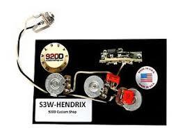 920d fender strat wiring harness hendrix 60 039 s 3 way w blender image is loading 920d fender strat wiring harness hendrix 60 039