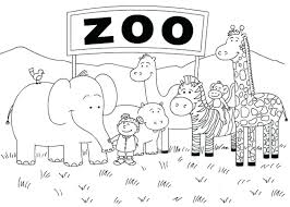 zoo coloring pages zoo coloring pages free to print zoo coloring pages kindergarten