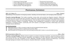 Apartment Leasing Agent Resume Examples Leasing Agent Resume Sample Leasing Consultant Resume Sample