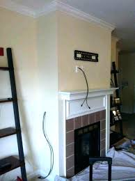 tv above fireplace too high bedroom height bedroom mounting above fireplace
