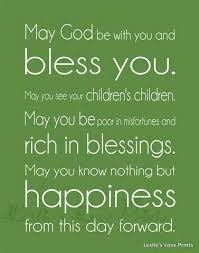 Wedding Blessing Quotes New Blessing Quotes Quotation Pinterest Blessed Quotes Blessings