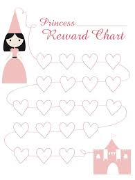 Princess Reward Chart Parenting Pinterest Sticker