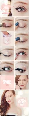 glitter eye makeup tutorial cat eye tutorial new years makeup purple makeup