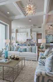 Pale Blue Living Room Light Blue White Home Decor With Different Patterns And Textures