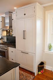 refrigerator panels. panel ready refrigerator kitchen farmhouse with painted cabinets farm sink panels
