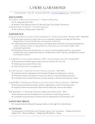 Law School Application Resume Template Word New College