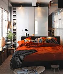 Collect This Idea Photo Of Small Bedroom Design And Decorating Idea    Orange And Brown