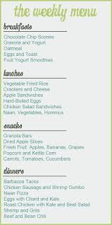Weekly Menu For One Whole Foods Menu Plan Shopping Challenge Food For My Family