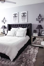 black and white bedroom decor ideas. Perfect Decor Black U0026 White Bedroom Decor  Chic Glam Blondie In The  City Hayley Larue Chanel Intended And Ideas
