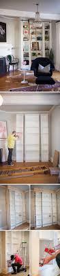 30 Genius IKEA BILLY Hacks for Your Inspiration. Diy Bookshelf WallDiy Built  In ...