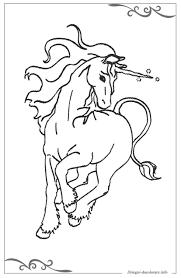 Unicorno Pagine Da Colorare Per Bambini Gratis