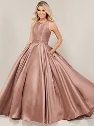 Halter Gown Designs Halter Prom Dress Tiffany Designs 16364