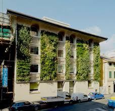 A green facade in Italy. Photo: Anna Positano