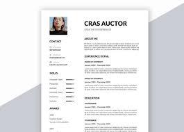 Creative Resume Templates Free Word Creative Free Resume Template In Word Format Download