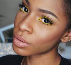 bn beauty more spring inspired looks with this yellow eyeshadow makeup tutorial by vicky logan