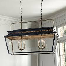 ballard designs piedmont 6 light rectangular lantern 799 found on polyvore featuring home
